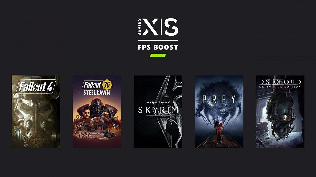Xbox Bethesda Oyunları 60 FPS