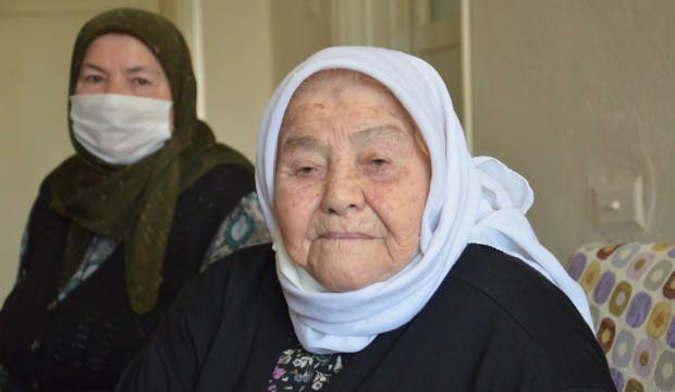 Denizli'de yaşayan 101 yaşındaki İsmahan nine uzun ve sağlıklı yaşamın sırrını anlattı!