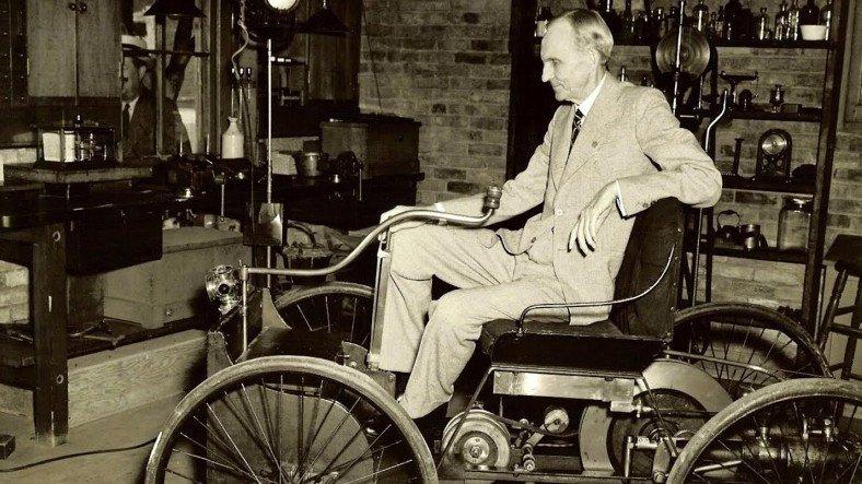 Hayvan ve İnsan Gücü Olmadan Çalışan İlk Araba Nasıl Üretildi? İşte Henry Ford ve Quadricycle'ın Hikayesi