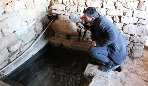 Siirt'te bulunan bu suyun şifalı olduğu, çamurunun da ağrılara iyi geldiği iddia ediliyor!